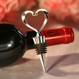 Heart Wine Bottle Stopper Wedding Favors