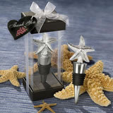 """Starfish"" Design Wine Stopper Wedding Favors"