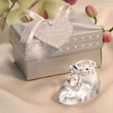 Crystal Baby Bootie Favors