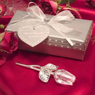 Crystal rose wedding favors crystal wedding favors unique favors crystal rose wedding favors junglespirit Gallery