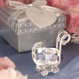Choice Crystal Baby Carriage Favors