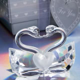Kissing Swan Favors..