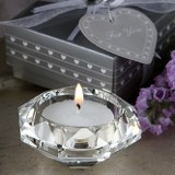 <em>Choice Crystal  Collection</em>  Diamond Candle Holder Favors