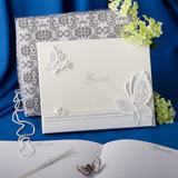 Butterfly Themed Guest Book