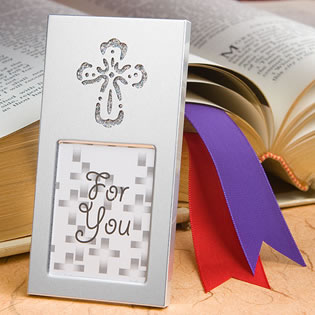 Cross Picture Frame Favors
