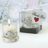Double Heart Candle Holder