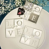 Love Coaster Wedding Favors (Set of 2)