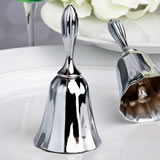 Silver Plated Wedding Bell / Kissing Bell
