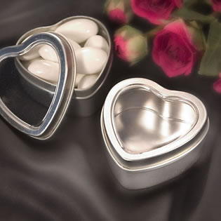 Heart Shaped Mint Tins
