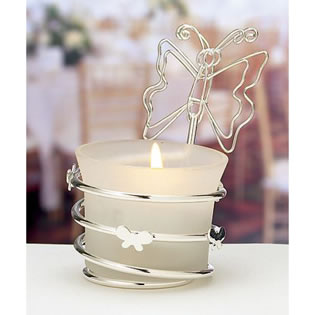 Butterfly Card Holder / Candle Holder