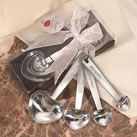 Heart Shaped Measuring Spoon Wedding Favors