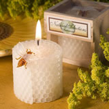 Beeswax Candle Wedding Favors