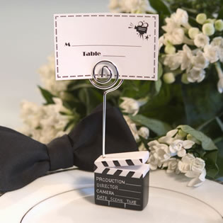 Clapboard Style Wedding Placecard Holders - ON SALE