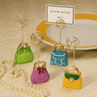 Purse Themed Placecard Holder Favors