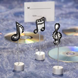 Musical Note Wedding Place Card Holders
