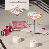 Las Vegas Place Card Holder Wedding  Favors