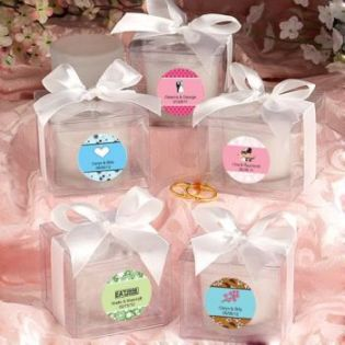 Love Themed Candle Favors