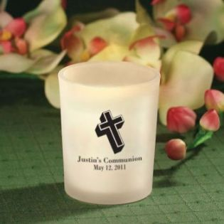 Personalized Communion Candle Favors