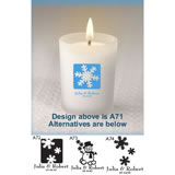 Personalized Winter Votive Favors