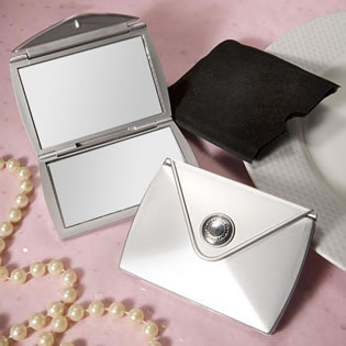 Fashionable Purse Design Compact Mirror Favors