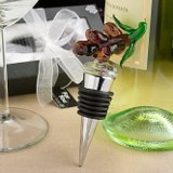 <em>Murano  Glass Collection</em> Grape Design Wine Stoppers