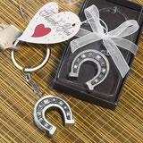 Lucky Horseshoe Key Chain Favors