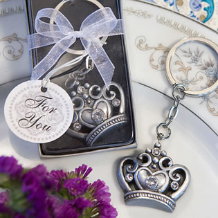 Crown Key Chain Favors