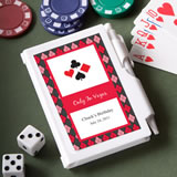 Personalized Las Vegas Notepad Wedding Favors