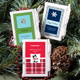 Personalized Winter Theme Notebook Wedding Favors