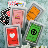 Sweet Sixteen Playing Card Favors - With Personalized Box