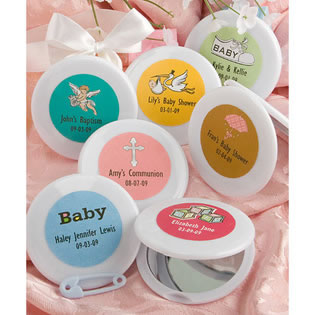 Baby Shower Compact Mirror Favors