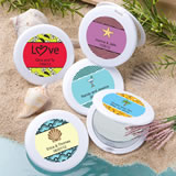 Beach Themed Compact Mirror Favors