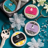 Personalized Key Ring Favors