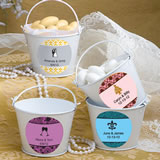 Personalized Pail Favors