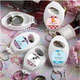 <em>Personalized Expressions Collection</em> Bottle Opener/Key Chain Favors