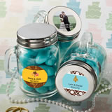 Glass Mason Jar Favors