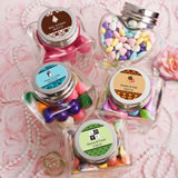 Glass Heart Jar Favors