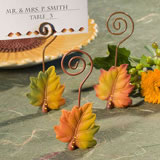 Autumn Place Card Holder Wedding Favors