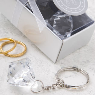 Diamond Designed Key Chain Favors