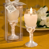 Champagne Flute Candle Favors