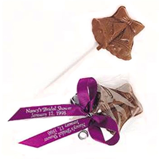 Chocolate Wedding Bell Favors