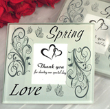 Spring Love Photo Coaster
