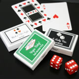 Las Vegas Themed Gum Box Favors