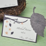 Plantable Leaf Place Card Favors (Set of 12)