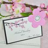 Plantable Cherry Blossom Place Card Favors (Set of 12)