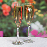Mr. and Mrs. Elegant Flute Set
