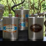Personalized Wingman's Flasks