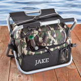 Camo Sit N Sip chair Cooler