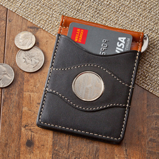 Two- Toned Leather Wallet