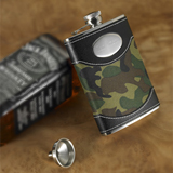 Green Camouflage Flask (8 oz.)
